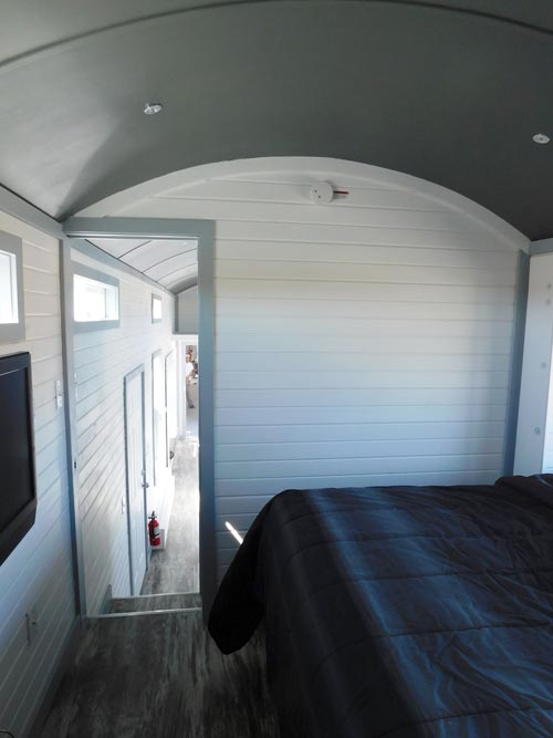 Bedroom Entry - Sawtooth Toy Hauler by Tiny Idahomes