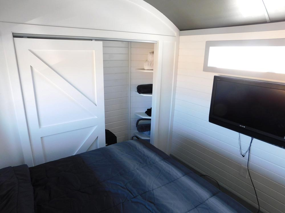 Master Bedroom - Sawtooth Toy Hauler by Tiny Idahomes