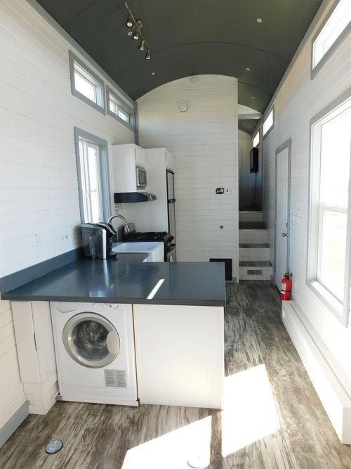Washer/Dryer Combo - Sawtooth Toy Hauler by Tiny Idahomes