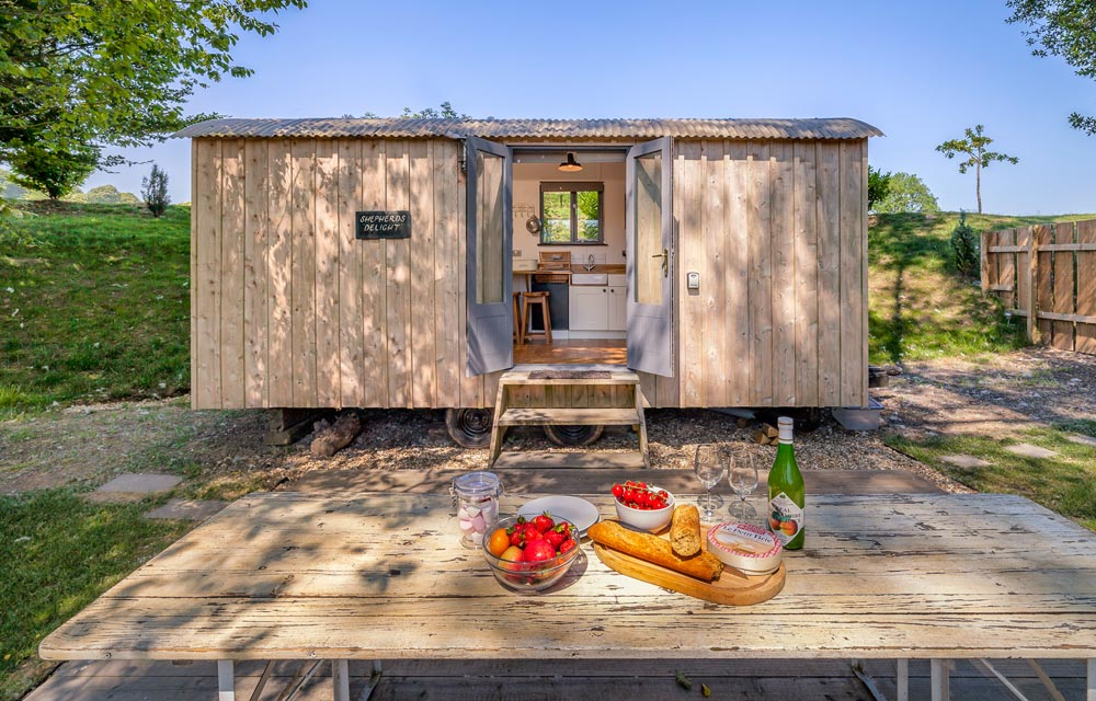Shepherds Delight - The Shepherds Hut Retreat