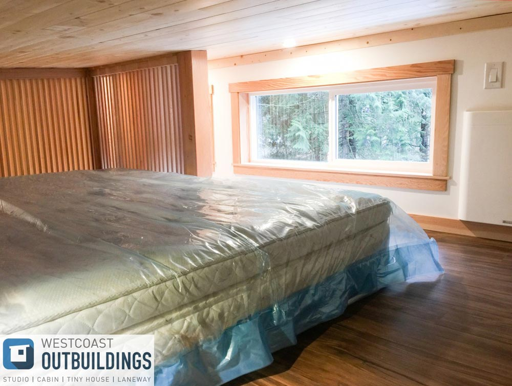 King Bedroom Loft - Skookum 26' by Westcoast Outbuildings