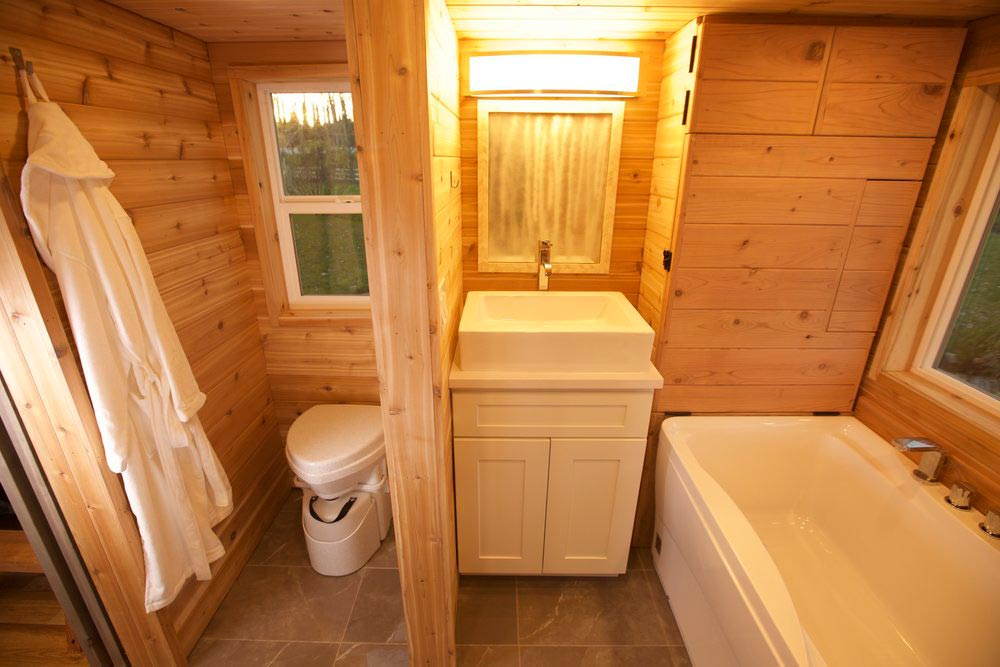 Bathroom - Tiny Tech-Free Retreat