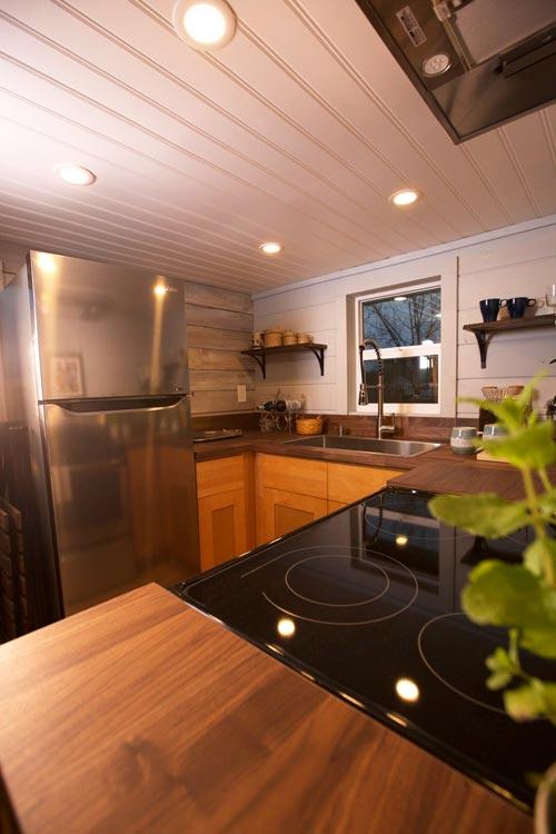 Stainless Steel Appliances - Tiny Tech-Free Retreat