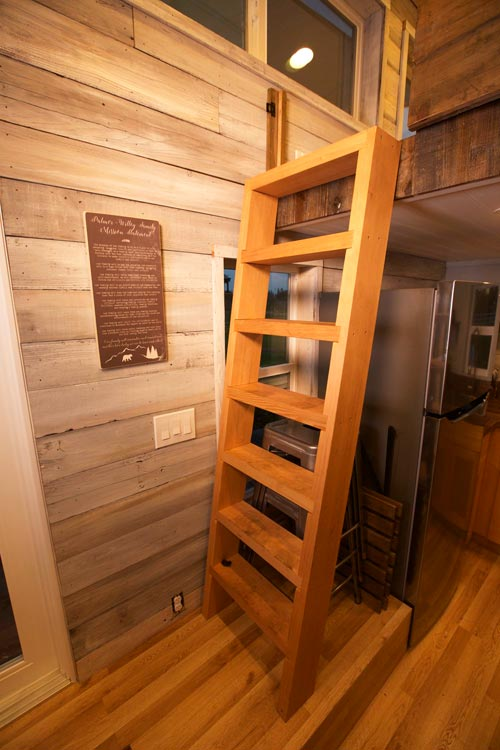 Loft Ladder - Tiny Tech-Free Retreat