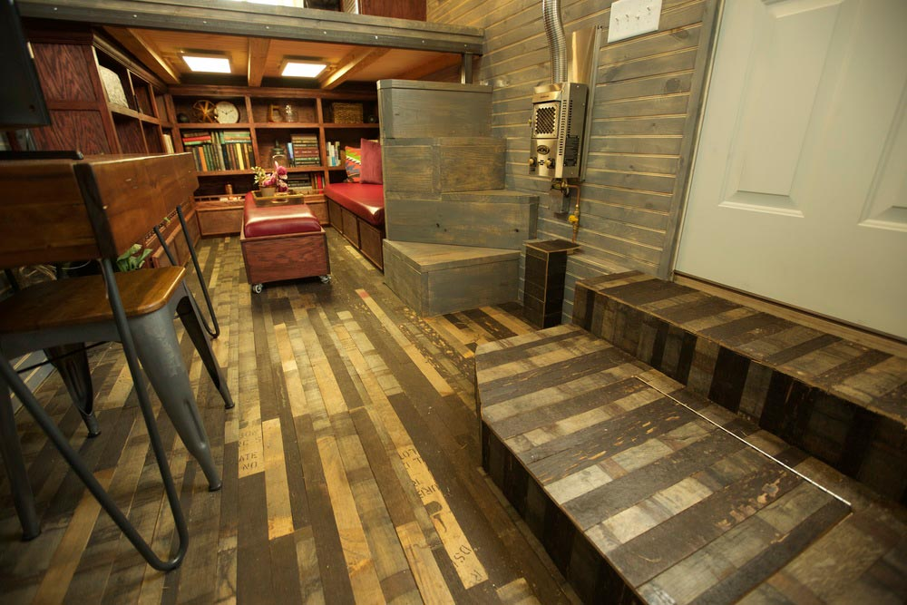 Reclaimed Bourbon Barrel Planks - Stable by VIVA Collectiv