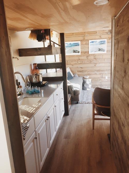 Tiny House Interior - Surf Shack by Alex Wyndham