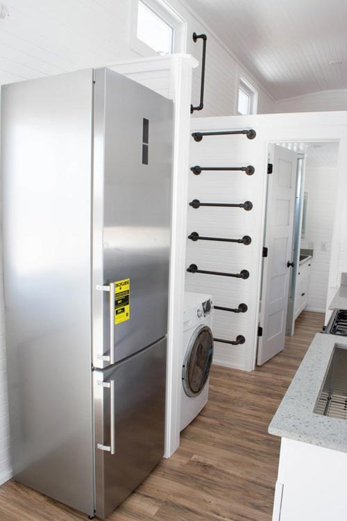 Refrigerator & Washer/Dryer - Williams by Tiny Treasure Homes