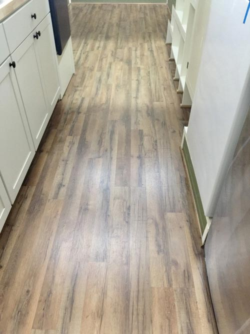 Laminate Wood Flooring - Willow by Tiny House Building Company