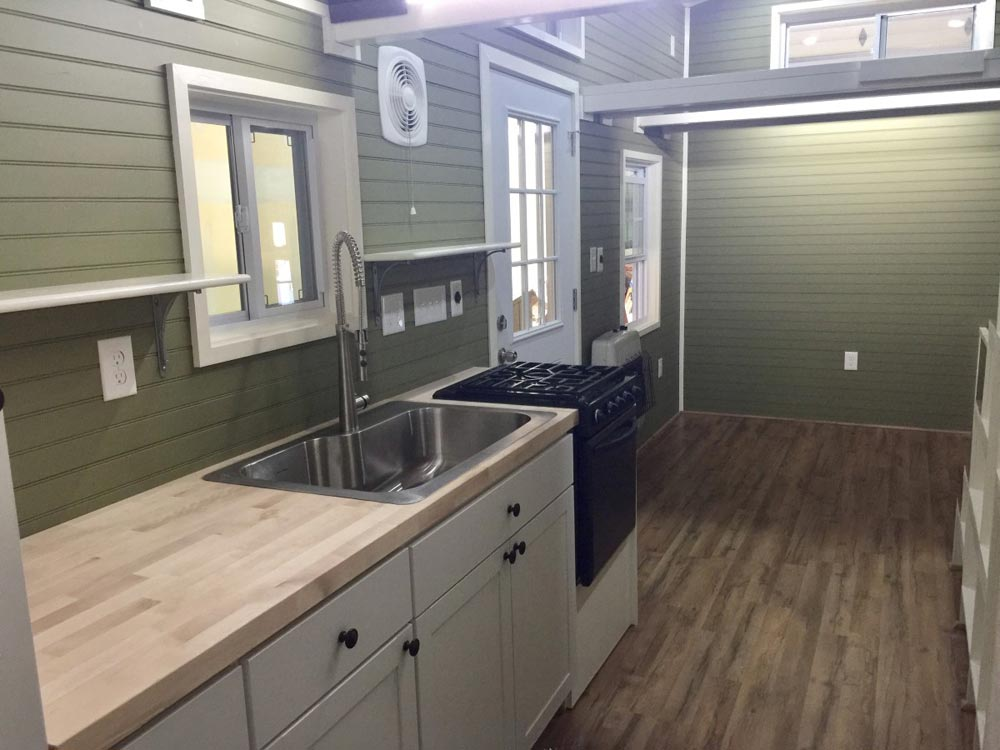 Butcher Block Counter - Willow by Tiny House Building Company