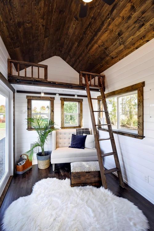 Storage Loft - 26 'Napa Edition by Mint Tiny Homes