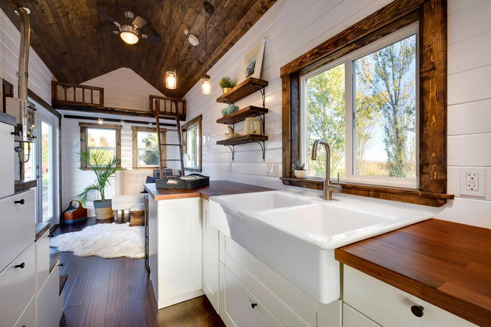 Apron Sink - 26' Napa Edition by Mint Tiny Homes
