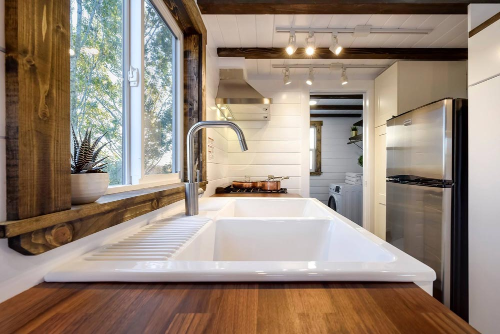Kitchen Sink - 26' Napa Edition by Mint Tiny Homes