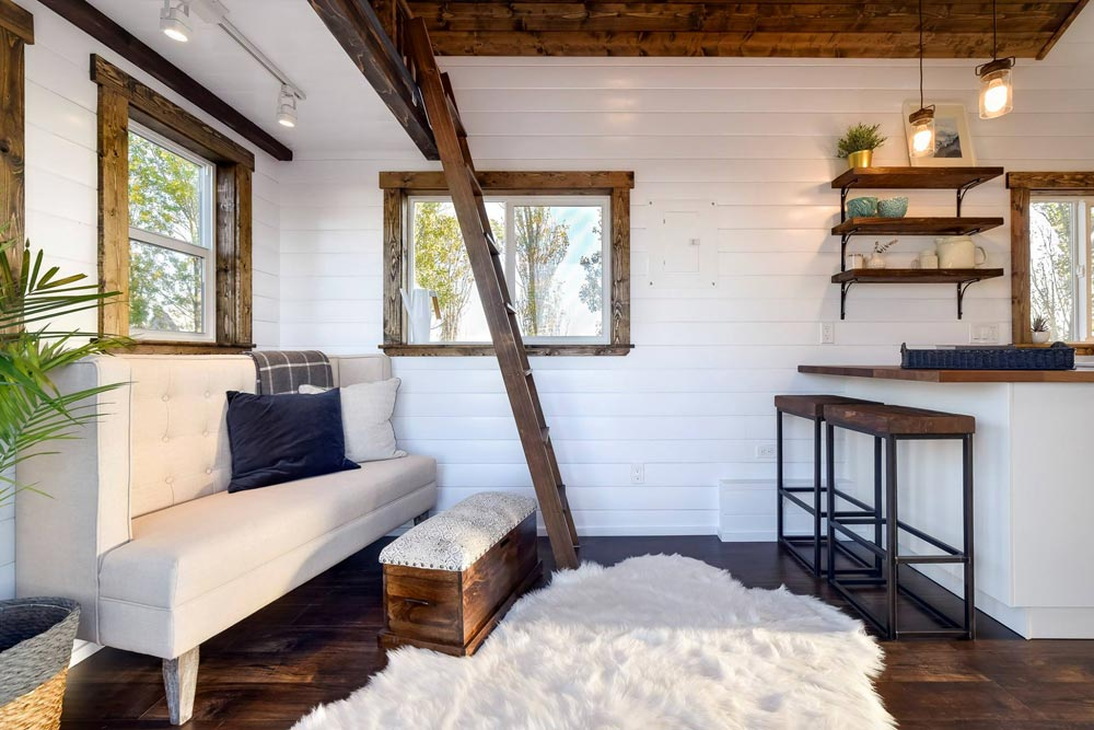 Living room - 26 'Napa Edition by Mint Tiny Homes
