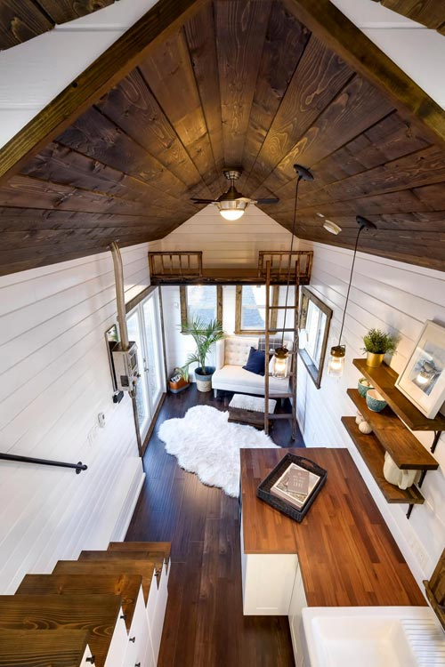 View From Loft - 26' Napa Edition by Mint Tiny Homes