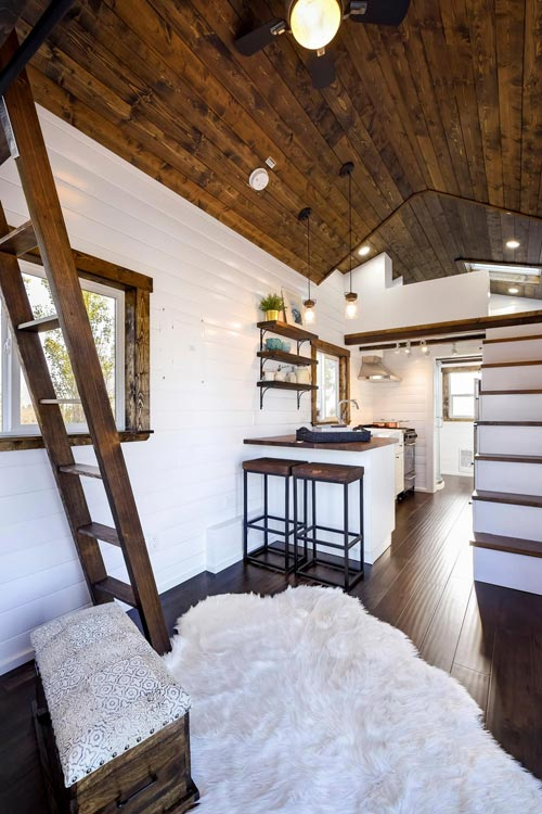 Living room & kitchen - 26 'Napa Edition by Mint Tiny Homes