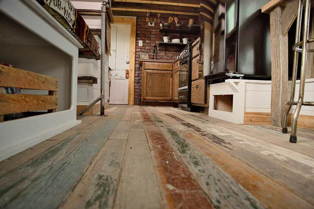 Reclaimed Flooring - Bird's Nest by Kim Lewis