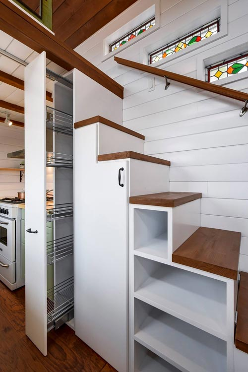 Pull Out Pantry - Custom 30' by Mint Tiny Homes