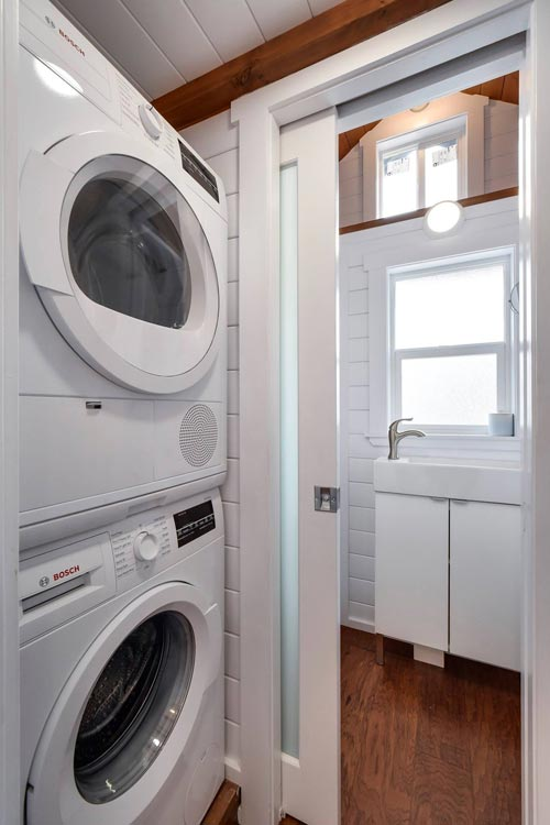 Stackable Washer/Dryer - Custom 30' by Mint Tiny Homes