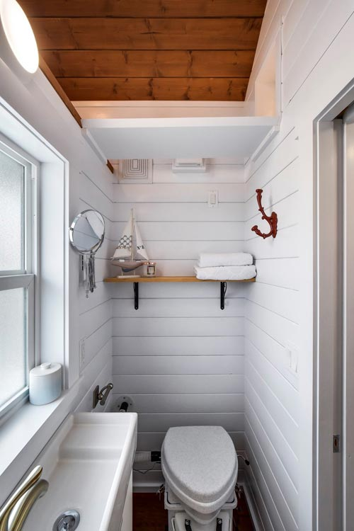 Bathroom - Custom 30' by Mint Tiny Homes