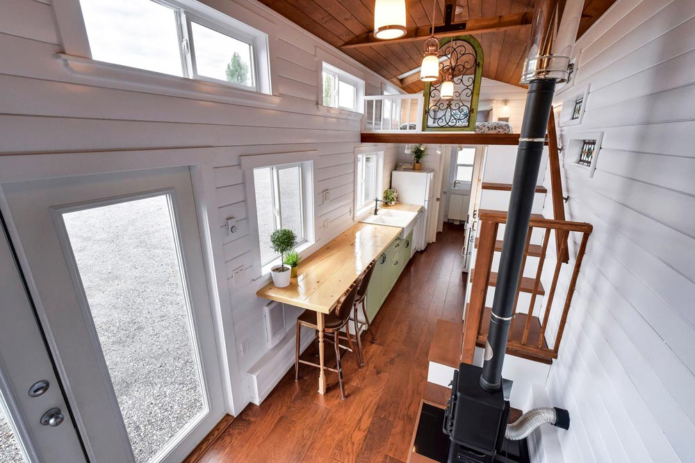 Tiny House Interior - Custom 30' by Mint Tiny Homes