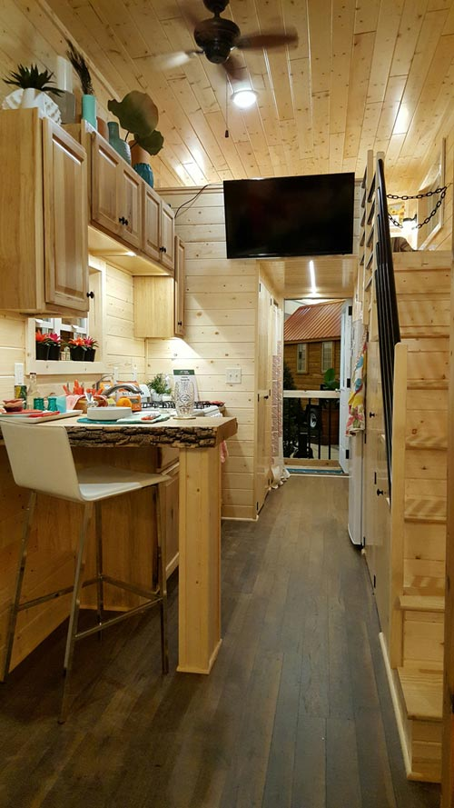 Galley Kitchen - Getaway by Glenmark Construction