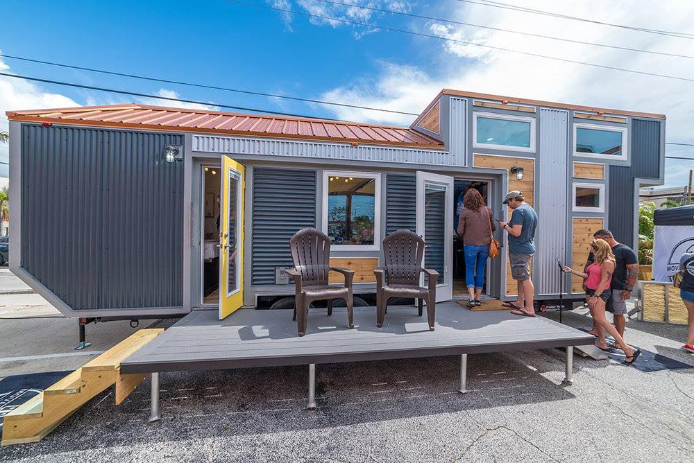 Tiny House w/ Deck - Henderson by Movable Roots