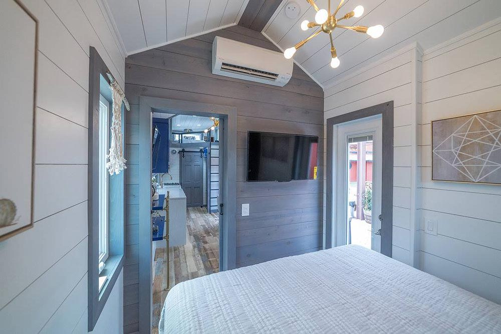 Bedroom with Exterior Door - Henderson by Movable Roots
