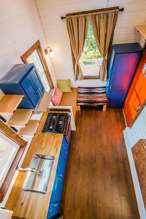 Tiny House Interior - Julia's Tiny House by Mitchcraft Tiny Homes
