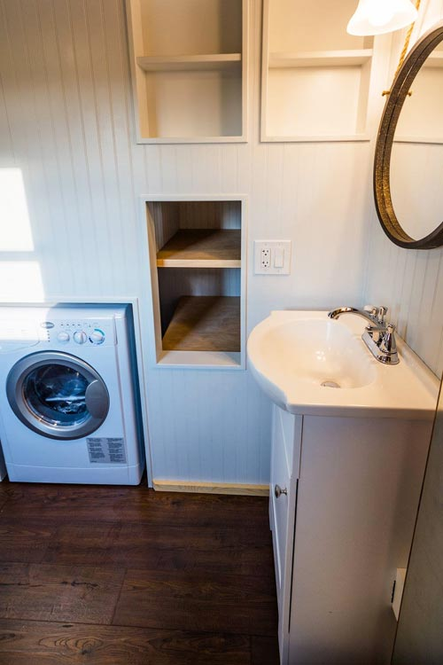 Washer/Dryer Combo - Julia's Tiny House by Mitchcraft Tiny Homes