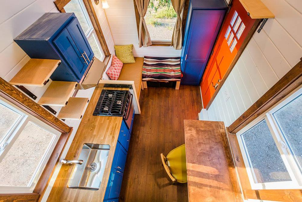 Aerial View - Julia's Tiny House by Mitchcraft Tiny Homes