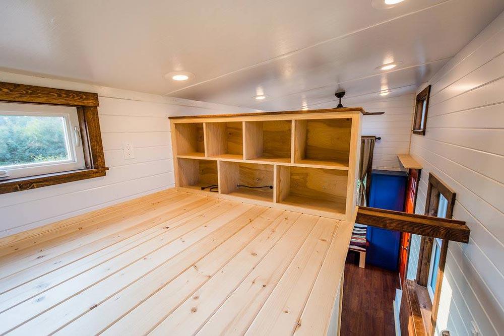 Bedroom Loft - Julia's Tiny House by Mitchcraft Tiny Homes