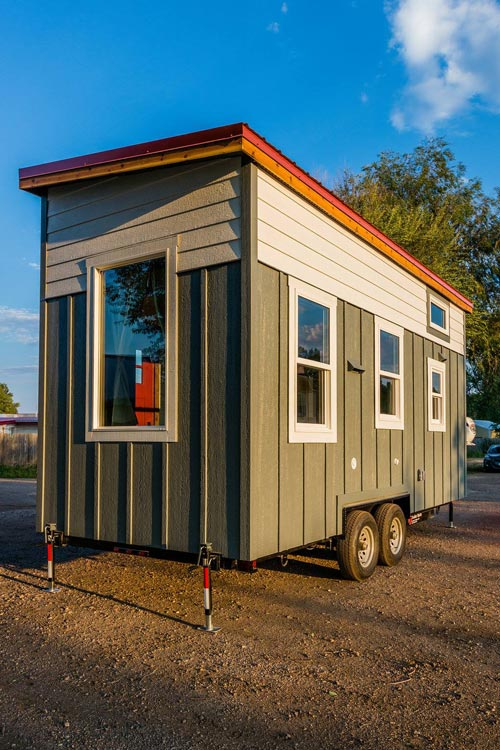 Exterior - Julia's Tiny House by Mitchcraft Tiny Homes
