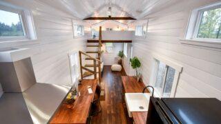 Custom 34' Loft Edition by Mint Tiny Homes