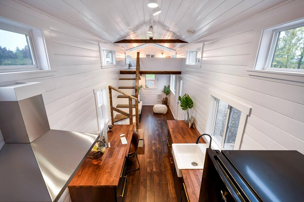Custom 34' Loft Edition by Mint Tiny Homes