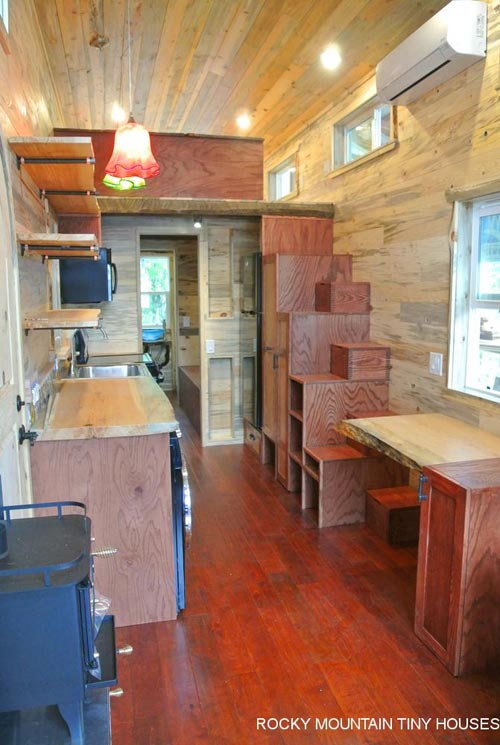 Tiny House Interior - La Luna Llena by Rocky Mountain Tiny Houses