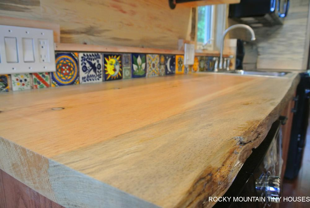 Live Edge Counter - La Luna Llena by Rocky Mountain Tiny Houses