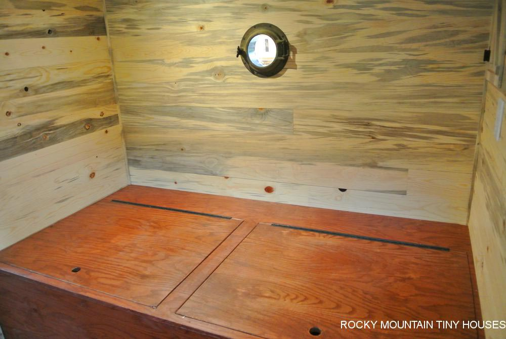 Storage - La Luna Llena by Rocky Mountain Tiny Houses