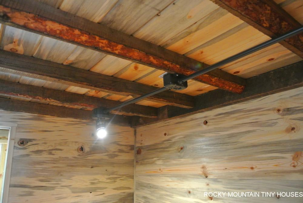 Loft Joists - La Luna Llena by Rocky Mountain Tiny Houses