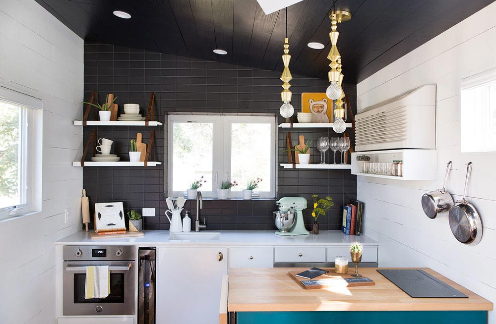 Kitchen - Mid-Century Marfa by Kim Lewis