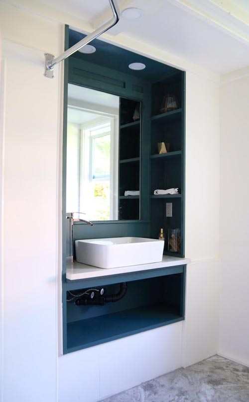 Bathroom Sink - Pacific Harmony by Handcrafted Movement