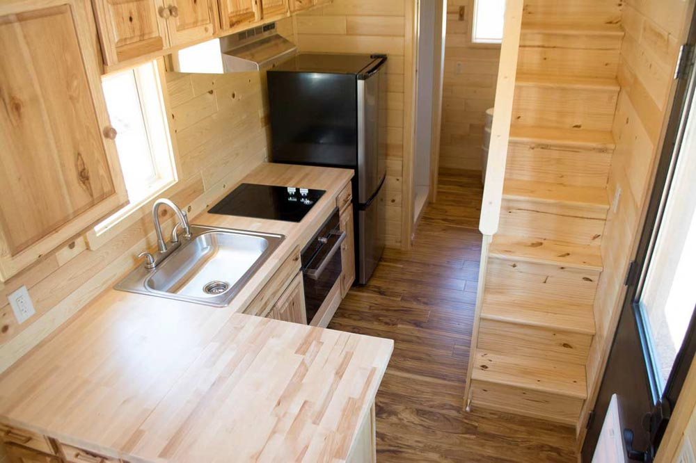 Aerial View - Traditional Craftsman by Tiny Treasure Homes