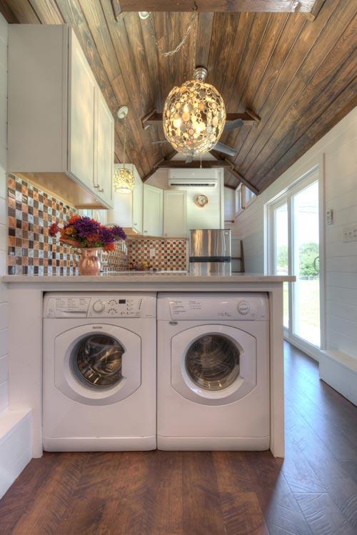 Washer & Dryer - Trinity v2 by Alabama Tiny Homes