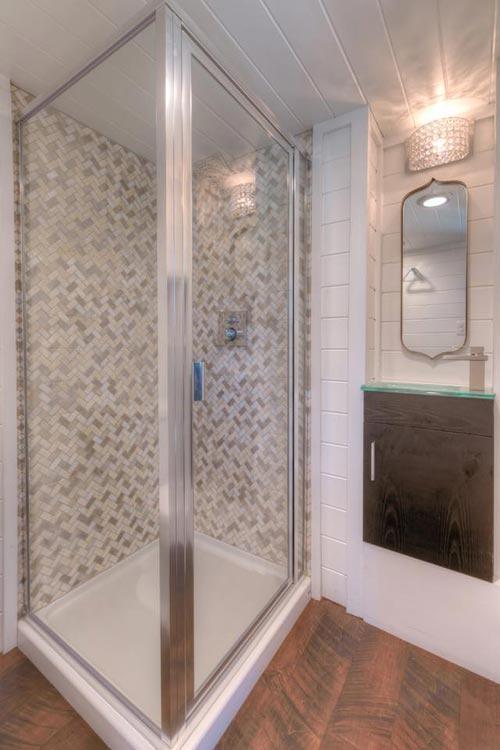 Shower - Trinity v2 by Alabama Tiny Homes