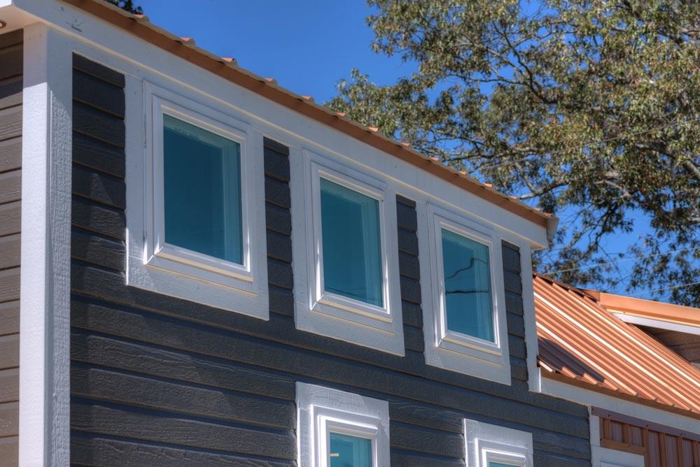 Dormer Windows - Trinity v2 by Alabama Tiny Homes
