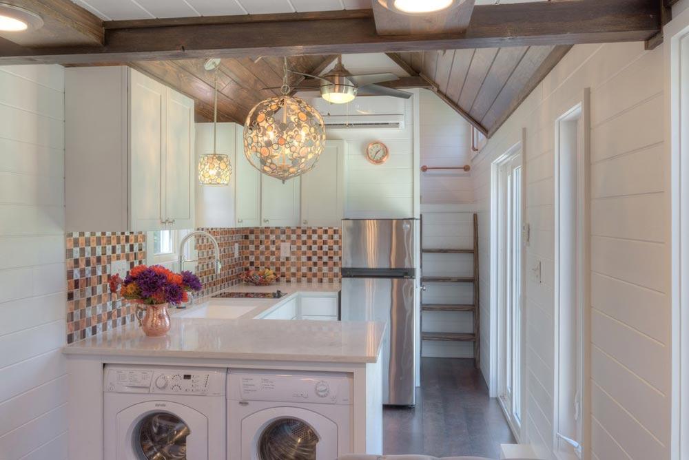 Kitchen - Trinity v2 by Alabama Tiny Homes