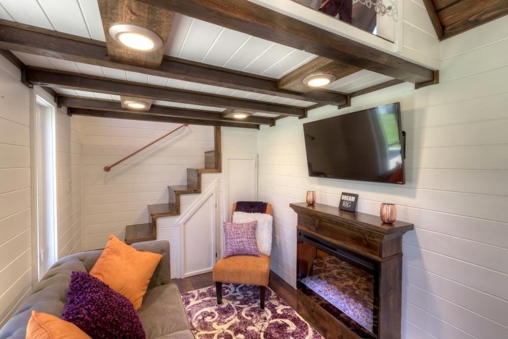 Electric Fireplace - Trinity v2 by Alabama Tiny Homes