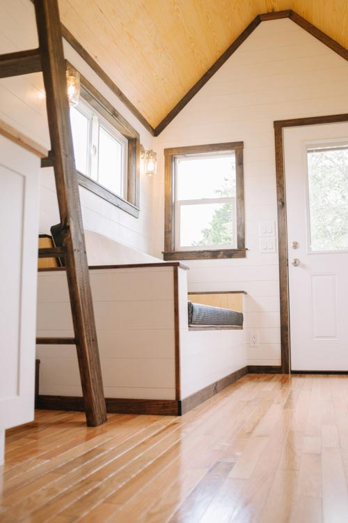Hardwood Floors - Acadia by Wind River Tiny Homes