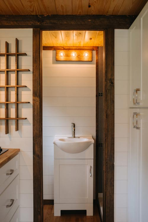Bathroom - Acadia by Wind River Tiny Homes