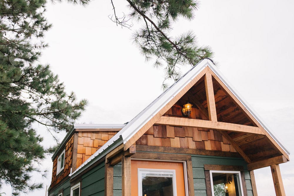 Gable Roof - Acadia by Wind River Tiny Homes