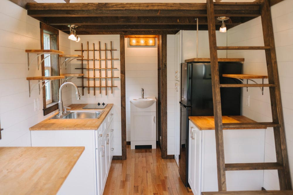 Tiny House Interior - Acadia by Wind River Tiny Homes